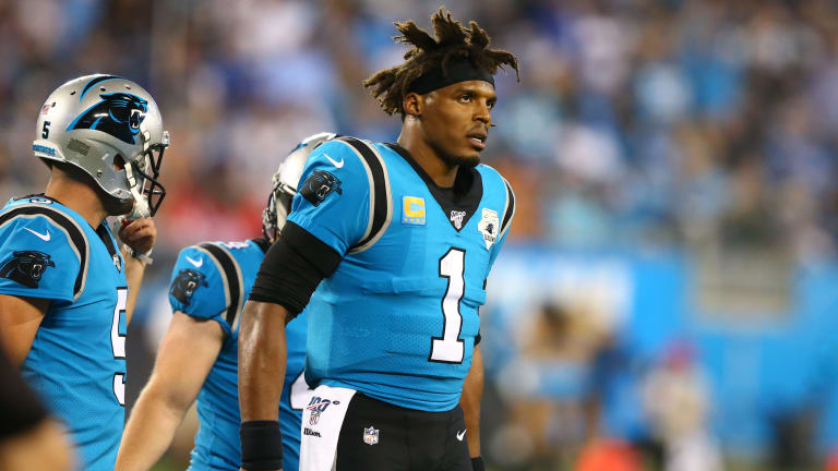 Cam Newton Absent for Tuesday's Practice