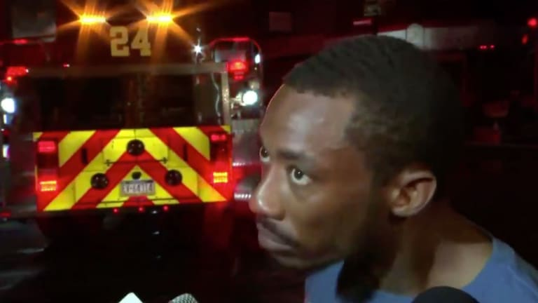 Hero Eagles Fan Casually Slips Nelson Agholor Jab Into Story About House Fire