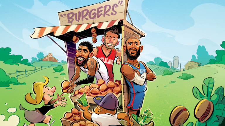 Beyond Endorsing: How Veggie Burgers Became the NBA's New Gatorade