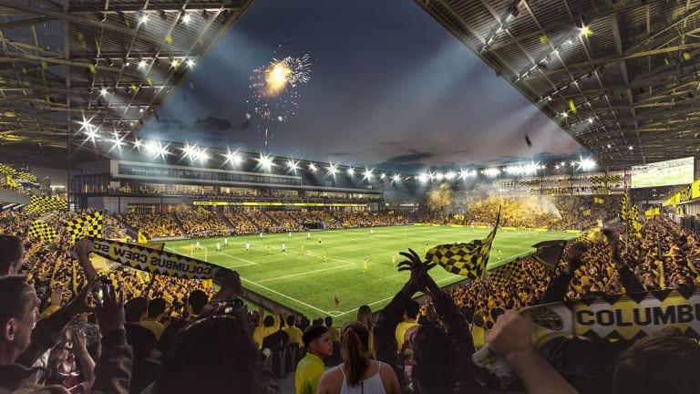 Columbus Crew Unveil Renderings for New Downtown Stadium