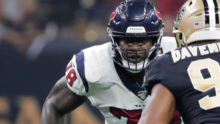 Houston Texans Playing It Safe, Laremy Tunsil Key Inactive Versus the Titans