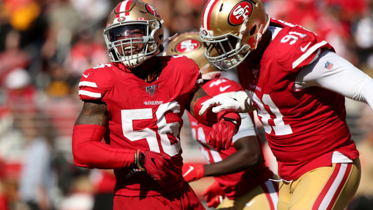 5 Players to Watch for the 49ers in Week 8 vs. Panthers