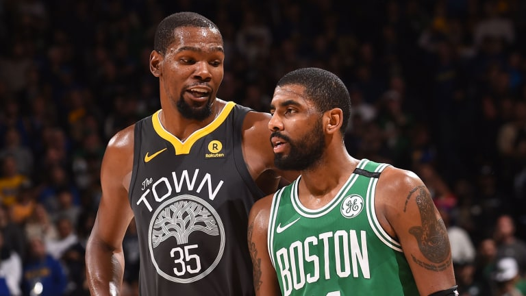 Kyrie Irving: 'We All Know Kevin Durant Was Not Ready' to Play in Finals Game 5