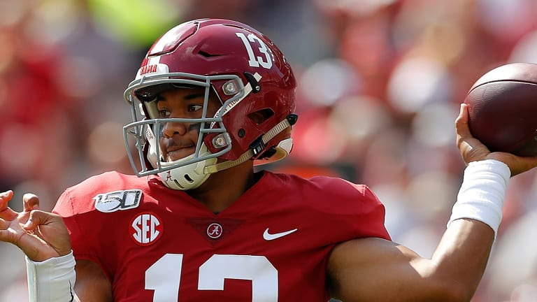 AP Top 25: Alabama Back At No. 1 After Rout Of Ole Miss