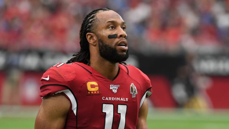 Larry Fitzgerald Passes Tony Gonzalez for Second in Career Receptions