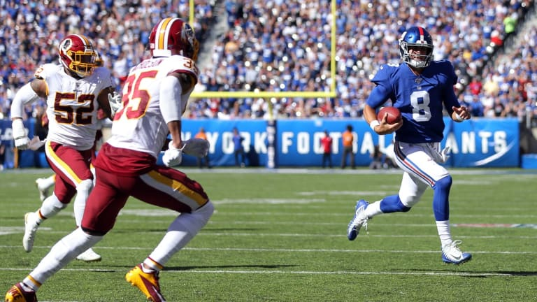 Takeaways from the Giants' 24-3 Win over Washington