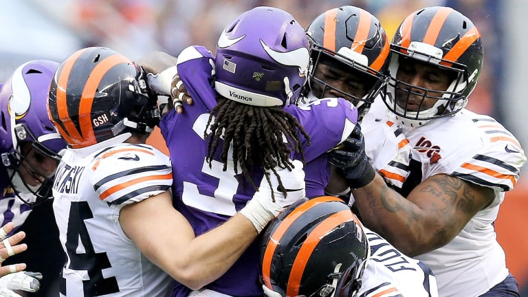 Bears' Defense Completely Stonewalled Dalvin Cook and the Vikings' Run Game