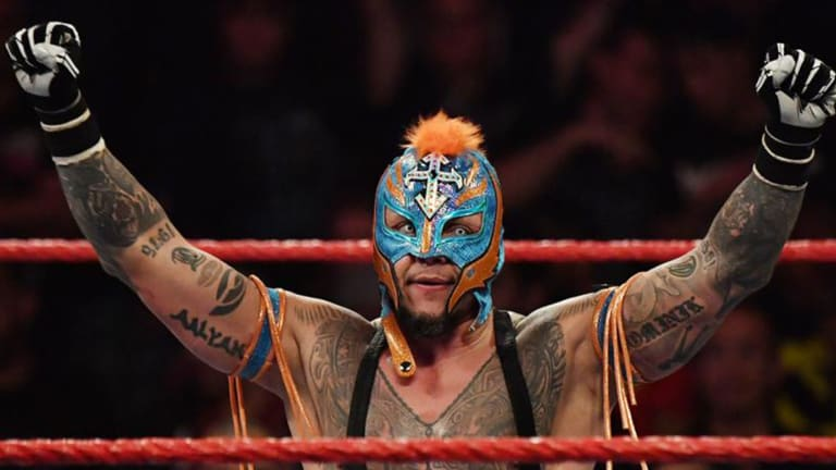 Rey Mysterio Reflects on His Career Ahead of Universal Championship Match on 'Raw'