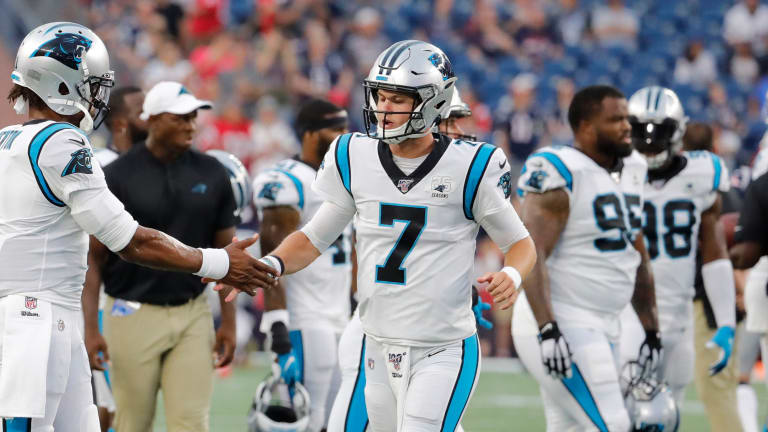 Panthers Expecting Kyle Allen to Start Week 5, No Update for Cam Newton