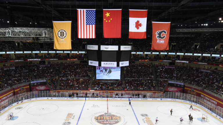 How the NHL Is Working to Give Hockey a Grassroots Presence in China