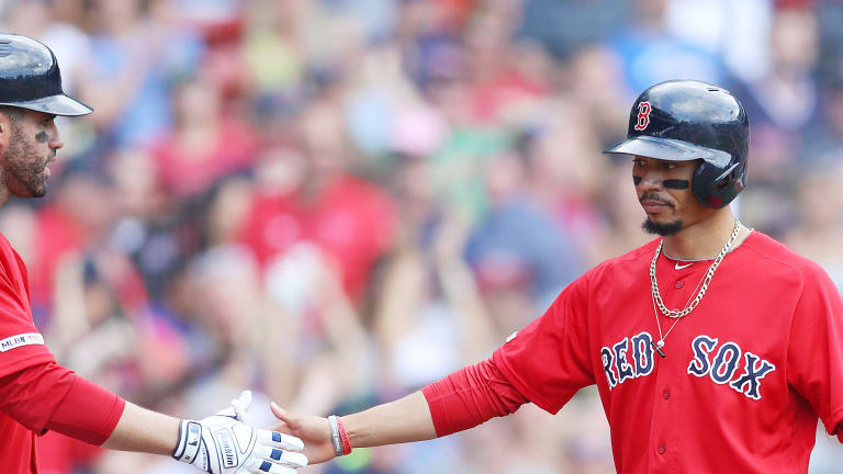 Red Sox President: It Will Be 'Difficult' for Red Sox to Keep Mookie Betts, J.D. Martinez