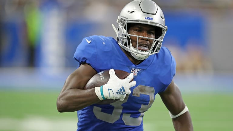 Fantasy Football Stock Watch: Kerryon Johnson Up, JuJu Smith-Schuster Down