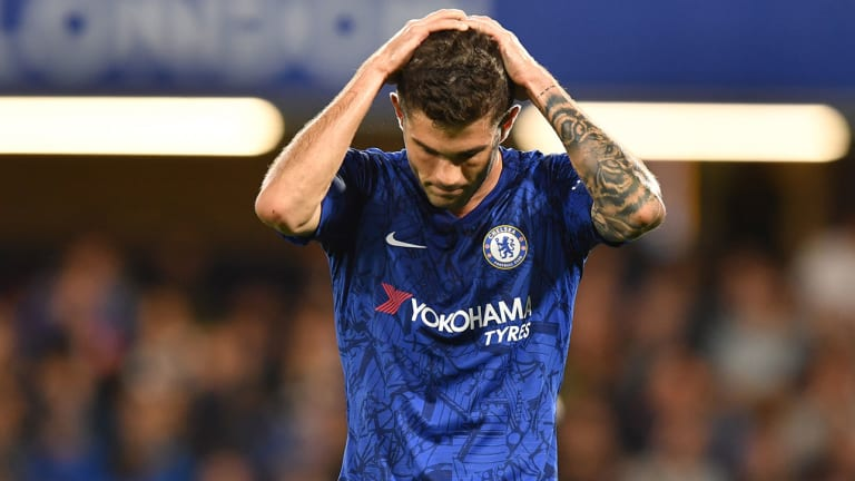 Christian Pulisic Omitted Entirely for Chelsea vs. Lille in Champions League