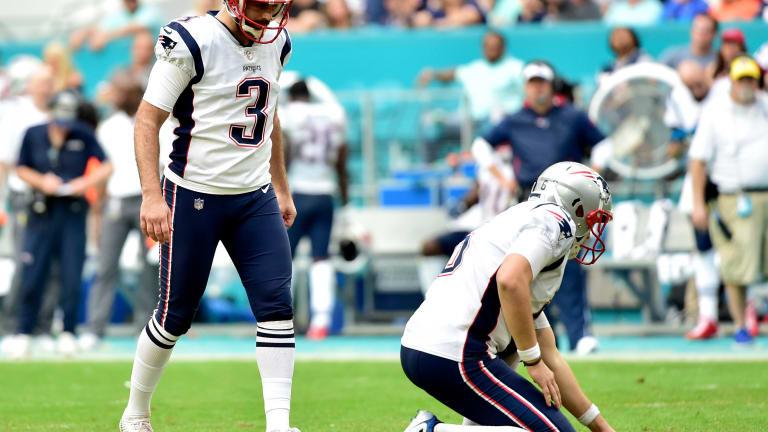 Report: Patriots Placing Kicker Stephen Gostkowski on IR