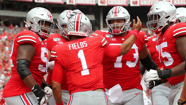 Ohio State Takes Over No. 1 in College Playoff Rankings