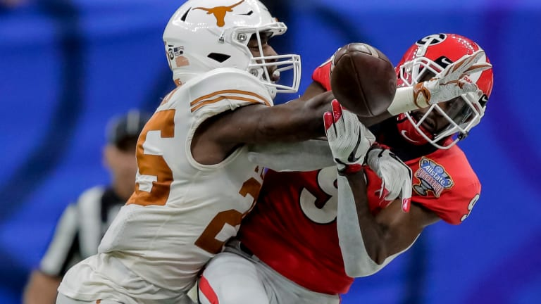 Texas Football: Collin Johnson, B.J. Foster Out for Baylor Game