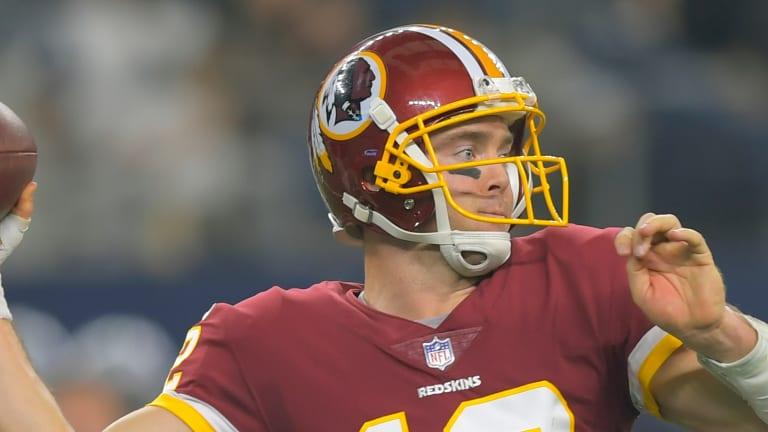 Colt McCoy Named Redskins' Starting QB vs. Patriots