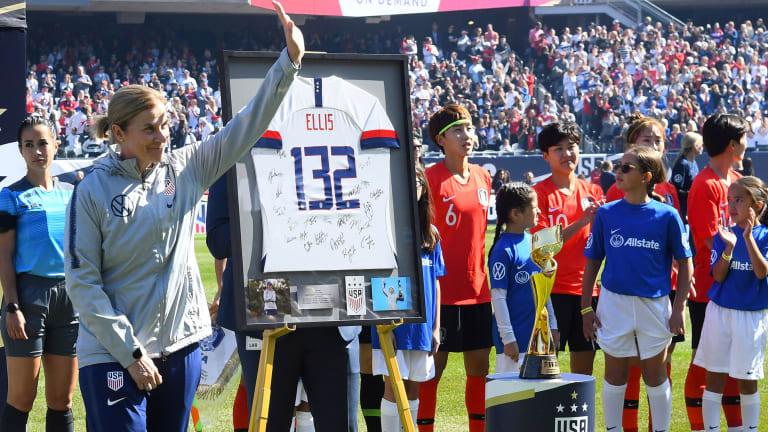 USWNT Ties South Korea in Jill Ellis's Last Match