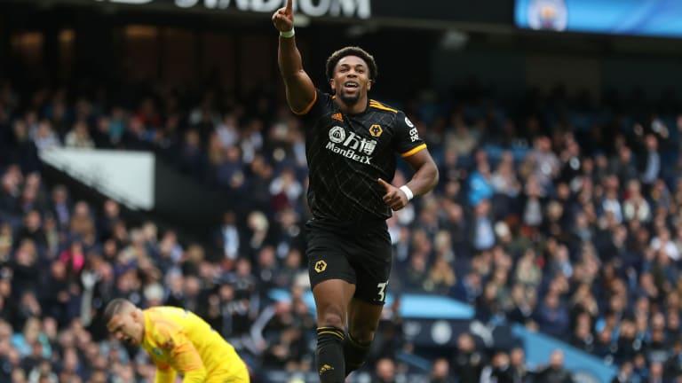 Adama Traore Scores Double as Wolves Sink Man City