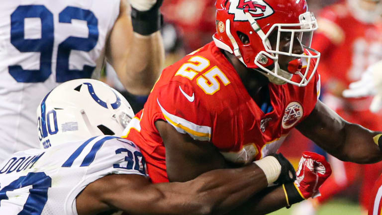 Shorthanded Colts Send Statement to League by Dominating in Trenches, Upsetting Chiefs