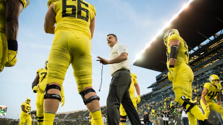 The Ducks Won't Let Narratives About the College Football Playoff Distract Them