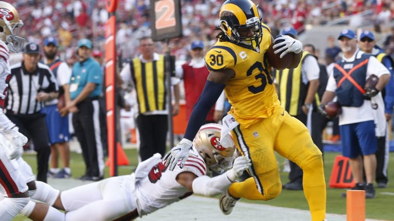 Bay to LA: Rams vs 49ers meet in NFC matchup
