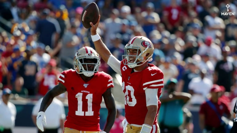 Gameday Live Blog Week 8: 49ers vs. Panthers