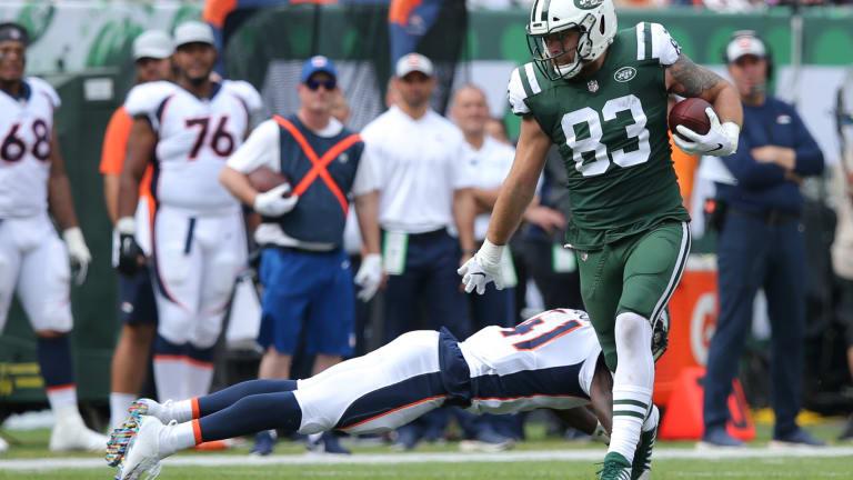 Report: Patriots Release TE Eric Tomlinson