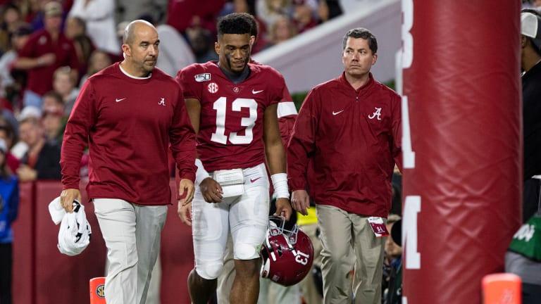 Nick Saban Updates Injury Status of Tua Tagovailoa, Other Alabama Players