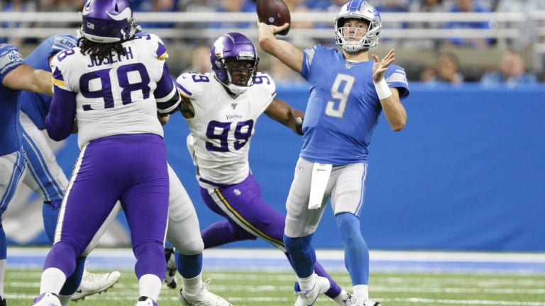 Matthew Stafford Will Not Demand to Leave Lions
