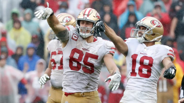 George Kittle's Snaps Must be Limited against the Packers