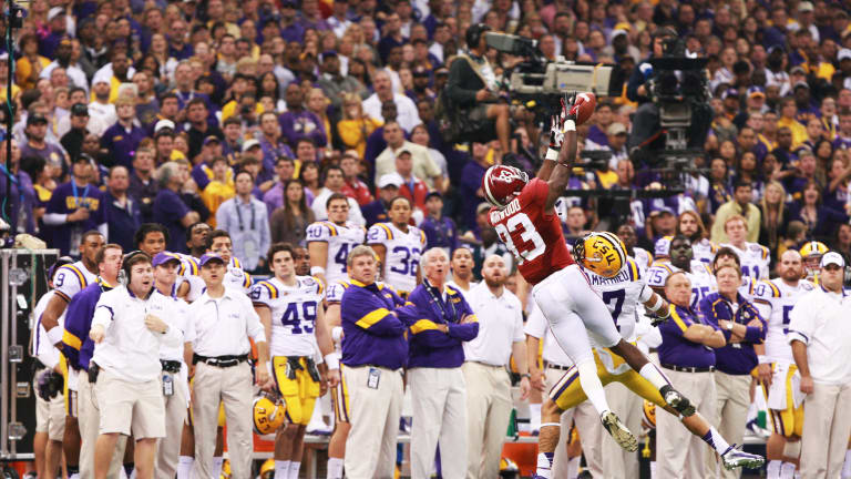Top 10 Tide Moments of the Decade: No. 2, Following Tornado Alabama Shuts Out LSU in Title Game