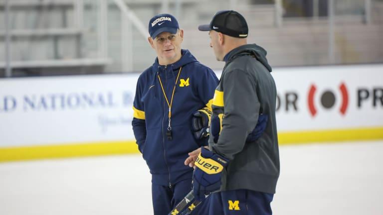 Listen: Mel Pearson Breaks Down Michigan Hockey Series
