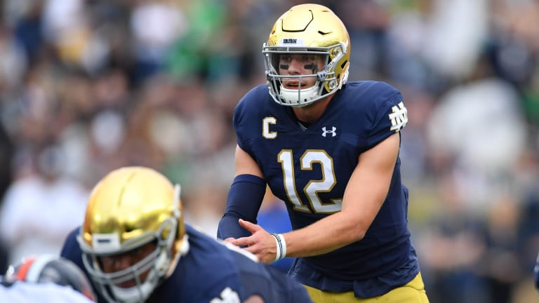 Notre Dame Preview: Ian Book Leads The Way