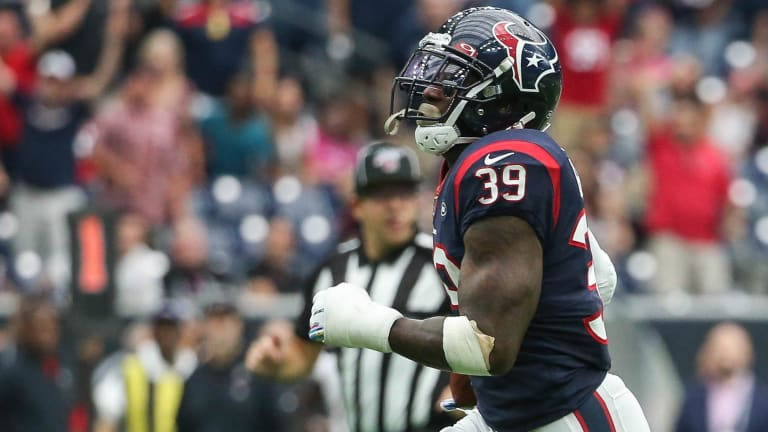 Texans Will Have To Get Creative To Replace Tashaun Gipson For the Wild Card Round