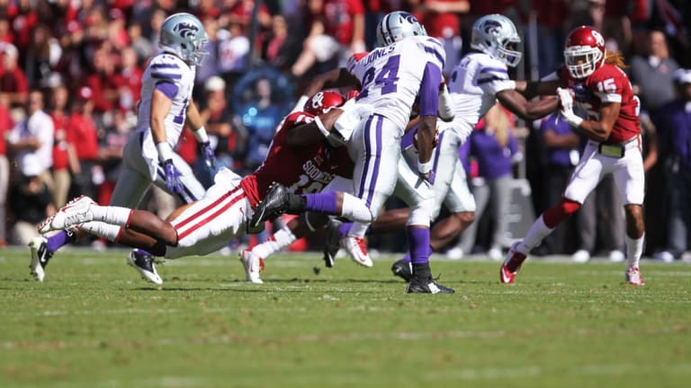 Wildcats upset Sooners but controversy on the onside kick overshadows win