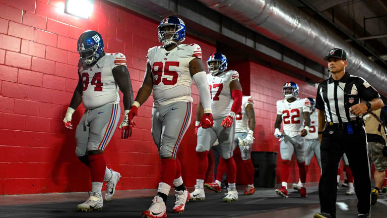 Giants Looking for More Consistency from Defensive Line