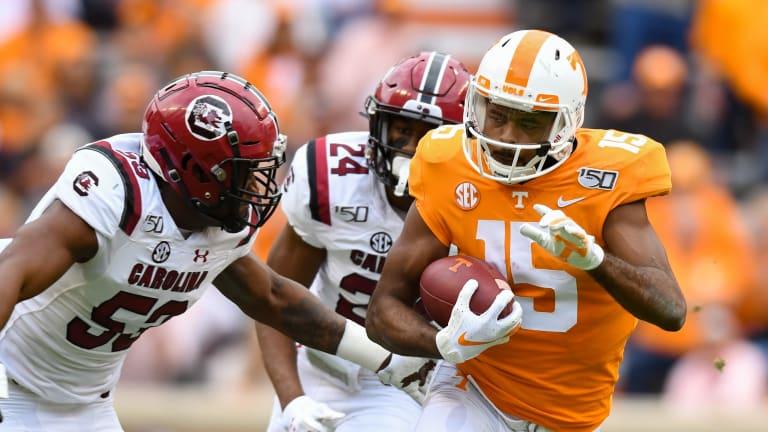 Jennings' career performance leads Tennessee past South Carolina