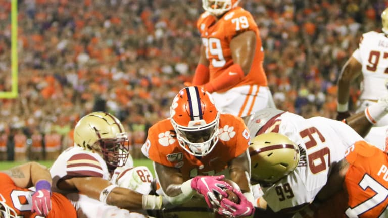 Clemson Crushes Boston College in Homecoming Blowout