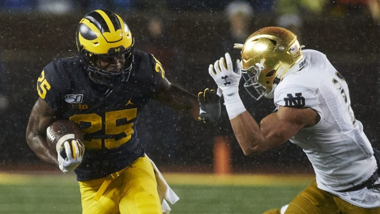 Quick Reactions: Michigan Drowns The Irish In Rain-Soaked 45-14 Victory
