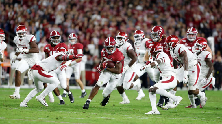 Alabama Stable Successful Against Arkansas