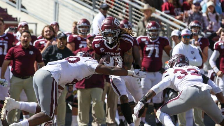 Recap: Offensive Production Leads Texas A&M to Victory Over Bulldogs