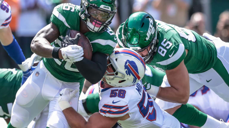 Bills release injury report prior to match up with Eagles