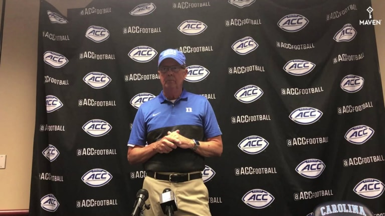 Frustrated Cutcliffe Meets With Media