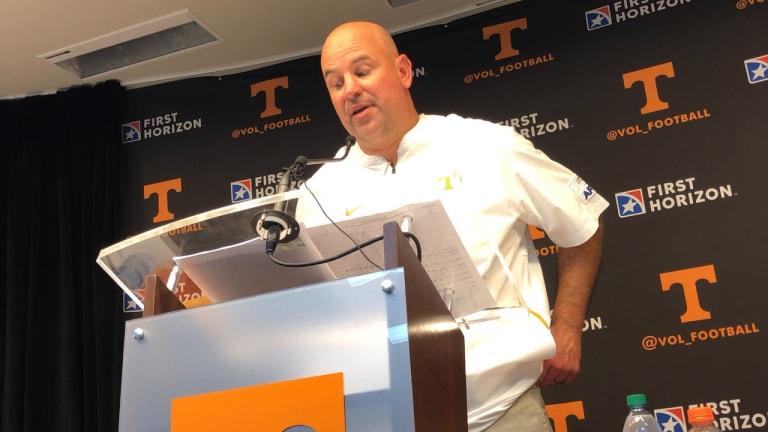VIDEO: Tennessee coach Jeremy Pruitt postgame vs. South Carolina