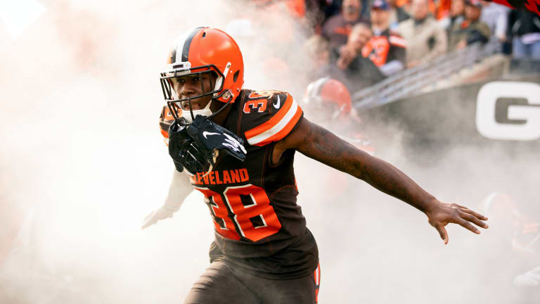 Ian Rapoport reports Browns Defensive Back on the Trading Block