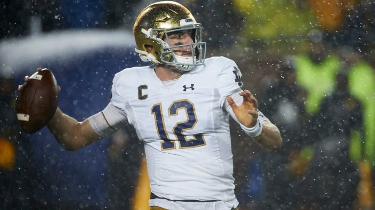 Quarterback Play For Notre Dame Is Not Good Enough