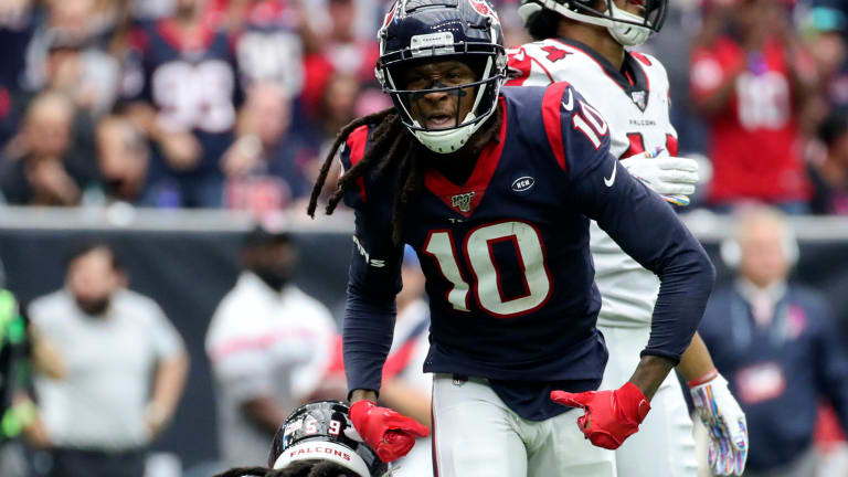 Report: NFL Teams Calling on Texans DeAndre Hopkins Despite Him Not Being on the Trade Block