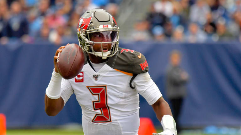 Bruce Arians Refuses to Blame Jameis Winston for Interceptions
