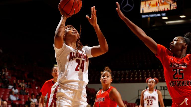 Alabama Women's Basketball Wins Exhibition against Auburn-Montgomery, 105-16